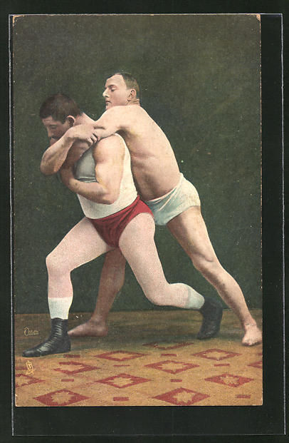 AK Wrestling, The Arm Lock, Ringen
