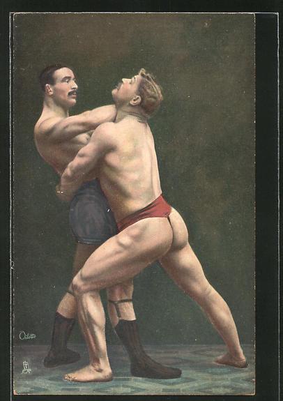 AK Wrestling, The Neck Choke, Ringen