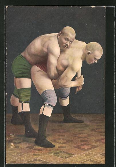AK Wrestling, The Body Hold, Ringen