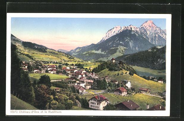 AK Chateau d'Oex et le Rublihorn