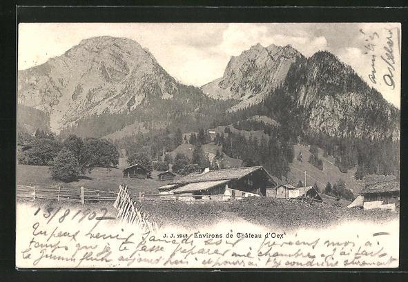 AK Environs de Chateau d'Oex