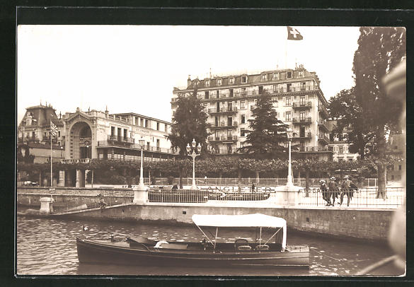 AK Vevey, Hotel d'Angleterre