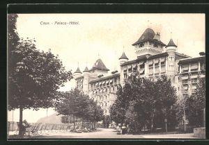 AK Caux, Ansicht vom Palace Hotel