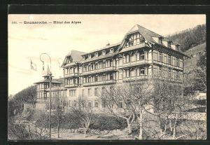 AK Baumaroche, Hotel des Alpes