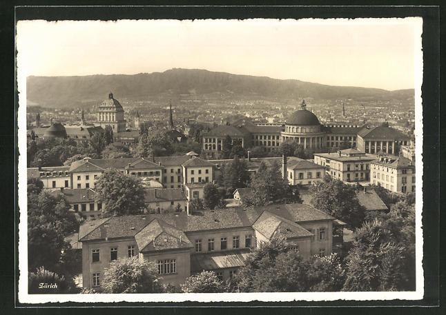 AK Zürich, Kant. Krankenanstalten mit Universität und Eidg. Techn. Hochschule
