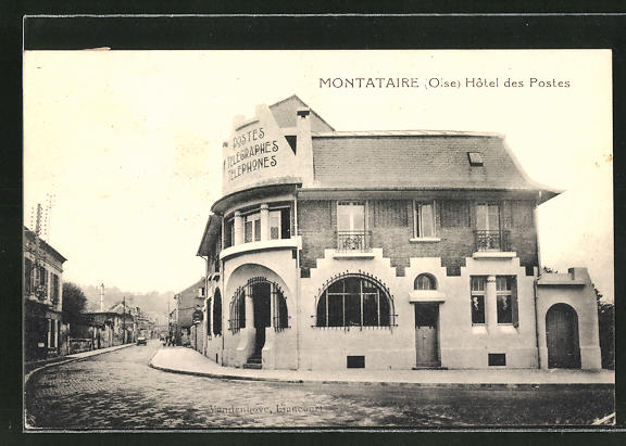 AK Montataire, Hotel des Postes