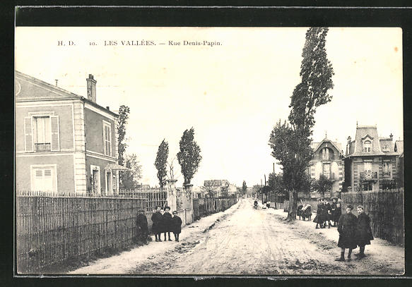 AK Colombes, Rue Denis-Papin