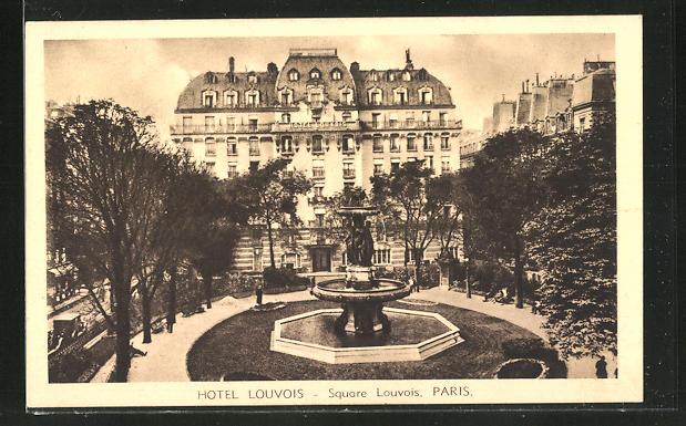 AK Paris, Hotel Louvois, Square Louvois