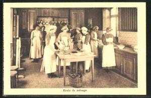 AK Neuchatel, Institution Morave pour jeunes filles Montmirail, Ecole de ménage