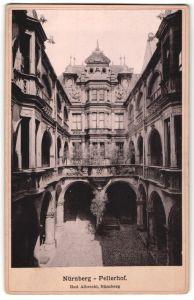 Fotografie Rud. Albrecht, Nürnberg, Ansicht Nürnberg, Pellerhof
