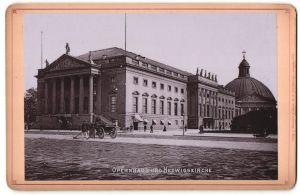Fotografie Römmler & Jonas, Dresden, Ansicht Berlin, Opernhaus und Hedwigskathedrale