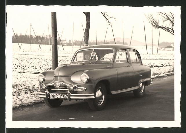 Fotografie Auto Standard Vanguard, PKW mit Kfz-Kennzeichen B758-854