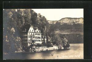 AK Gersau, Blick auf Hotel & Pension Seehof