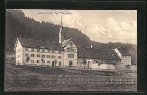 AK Einsiedeln, Blick auf das Frauenkloster