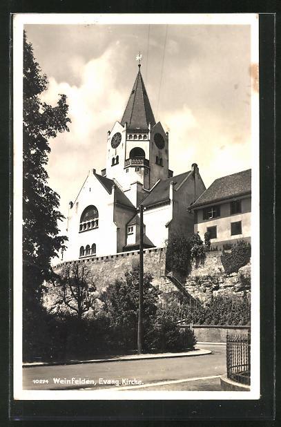AK Weinfelden, An der Evang. Kirche 0