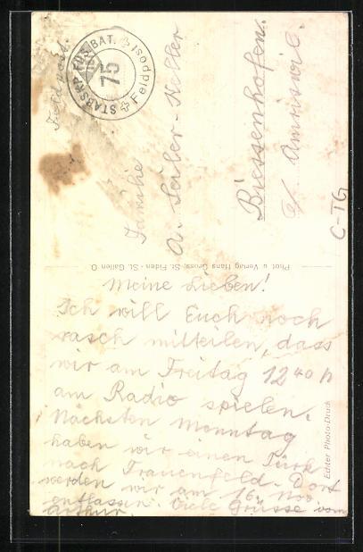 AK Weinfelden, An der Evang. Kirche 1