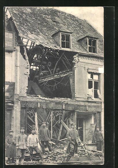 AK Lens, Grand Place 1916 0