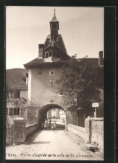 AK St. Ursanne, Porte d'entrée de la ville 0