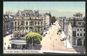 AK Genève, Rue de la Corraterie