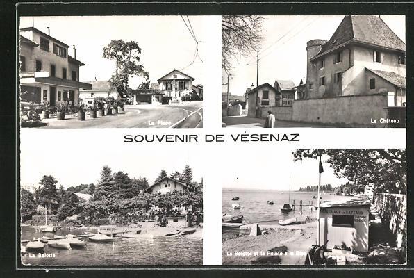 Bild zu AK Vésenaz, La Pl...
