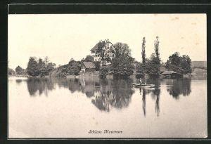 AK Mauensee, Blick zum Schloss