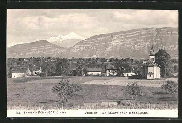 Bild zu AK Vernier, Panorama