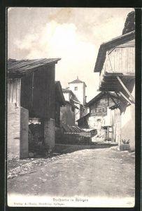 AK Splügen, Dorfpartie