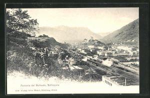 AK Bellinzona, Ferrovia del Gottardo