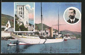 AK Monaco, Hirondelle, le Yacht du Prince Albert