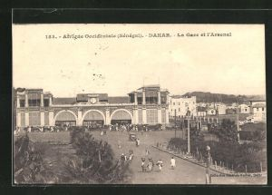 AK Dakar, la Gare et l'Arsénal, Bahnhof