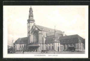 AK Luxembourg, Gare centrale, Bahnhof