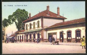 AK Tunis, la Garde du Sud, Bahnhof