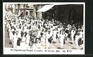 AK Luzern, 59. Eidgen. Turnfest 1928, Festzug