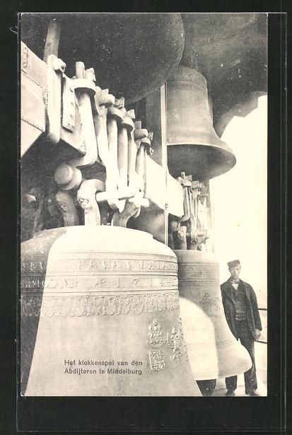 AK Middelburg, Het klokkenspel van den Abdijtoren, Glocke
