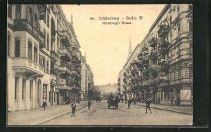 AK Berlin-Schöneberg, Blick in die Merseburger Strasse