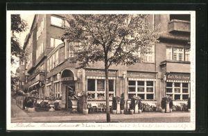 AK Berlin-Charlottenburg, Restaurant Kutschera in der Bismarckstrasse 109