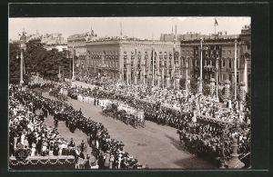 Foto-AK NPG Nr. 9: Berlin, Zur Einholung der Kronprinzessin am 3. Juni 1905