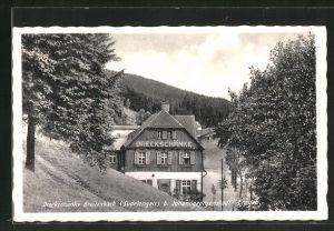 AK Breitenbach, Gasthaus Dreckschänke