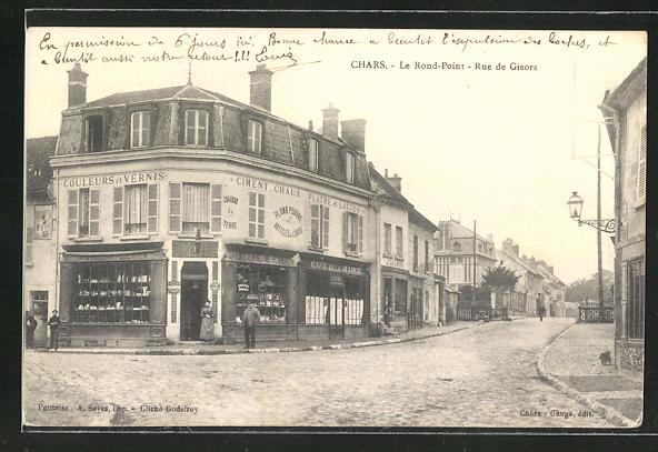 AK Chars, Le Rond-Point, Rue de Gisors