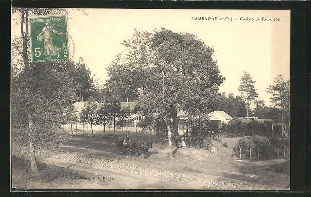 AK Gambais, Casino de Robinson