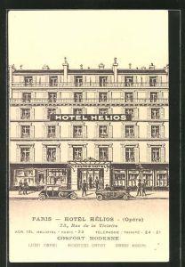 AK Paris, Hotel Hélios, Rue de la Victoire 75