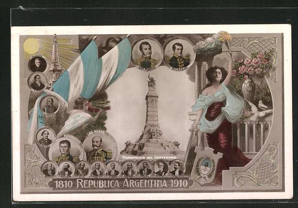 AK Argentinien, Monumento del Centenario