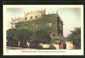 AK Santillana del Mar, Casa de Velarde, hoy La Duquesa Parcent