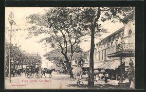 AK Colombo, Strassenpartie York Street