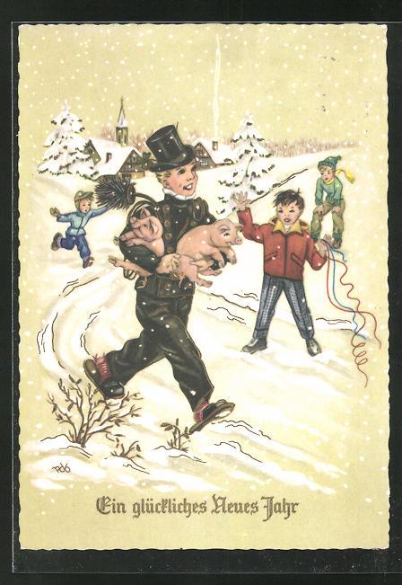 AK Schornsteinfeger wünscht ein glückliches neues Jahr