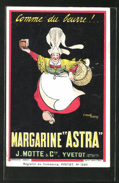 AK Reklame Margarine