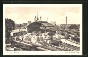 AK Dijon, Gare de Dijon-Ville, Bahnhof
