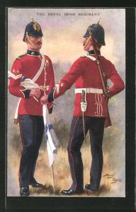 Künstler-AK Harry Payne: The Royal Irish Regiment