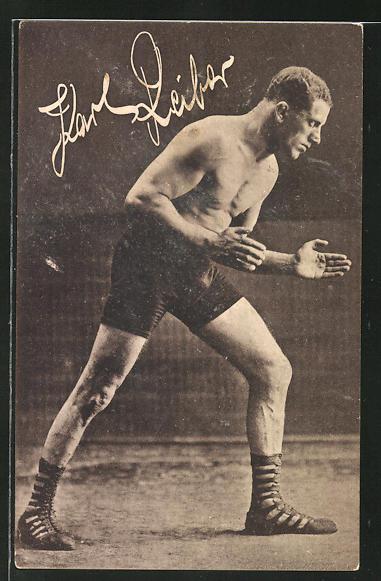 AK Ringer Karl Reiber in Pose