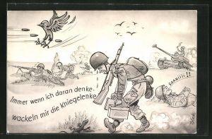 AK Soldaten der Bundeswehr bei einer Übung